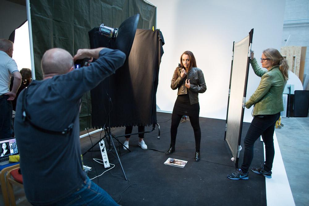 Modelfotografering