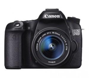 Canon EOS 70D – Online kamerakursus