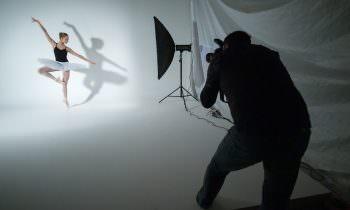 Fotografering af balletdanser